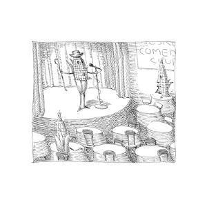 Stand up Corn - Cartoon by John O'brien