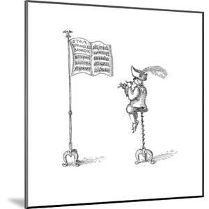 Star Spangeled Banner - Cartoon by John O'brien