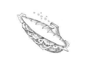 Submarine - Cartoon by John O'brien