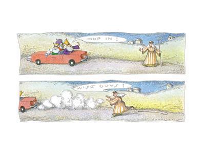 The 3 Kings - Cartoon by John O'brien