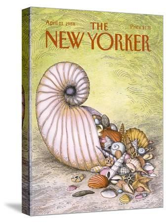 The New Yorker Cover - April 11, 1988