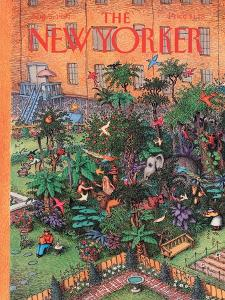 The New Yorker Cover - August 5, 1991 by John O'brien
