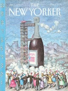 The New Yorker Cover - January 1, 1990 by John O'brien