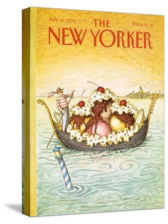 The New Yorker Cover - July 16, 1990