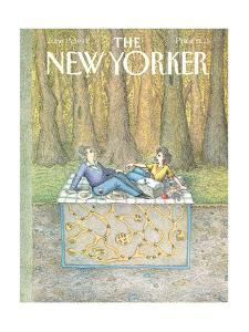 The New Yorker Cover - June 15, 1992 by John O'brien
