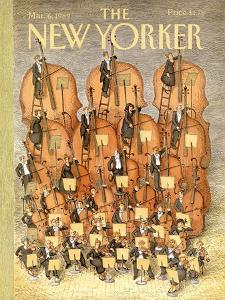 The New Yorker Cover - March 6, 1989 by John O'brien