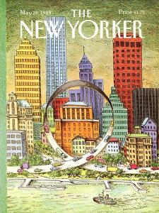 The New Yorker Cover - May 29, 1989 by John O'brien