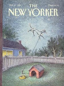 The New Yorker Cover - October 21, 1991 by John O'brien