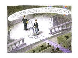 Wedding reception - Cartoon by John O'brien