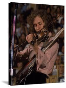 "Electric Violinist Rick Grech from the Group ""Blind Faith."" by John Olson"