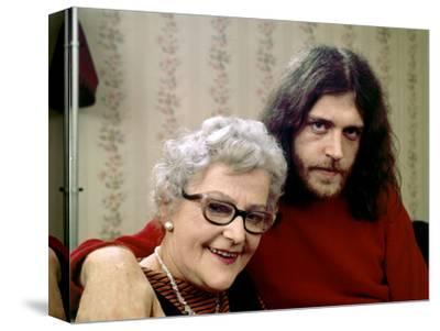Joe Cocker with His Mother Marjorie. 1970