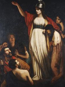 Boadicea Haranguing the Britons by John Opie
