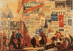 The Poster Man, 1835 by John Orlando Parry