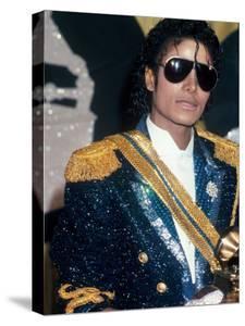 Michael Jackson at Grammy Awards by John Paschal