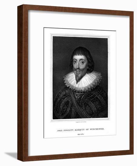John Paulet, 5th Marquess of Winchester, Royalist-TA Dean-Framed Giclee Print