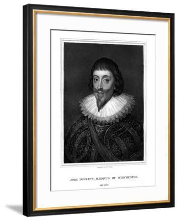 John Paulet, 5th Marquess of Winchester, Royalist-TA Dean-Framed Giclee Print