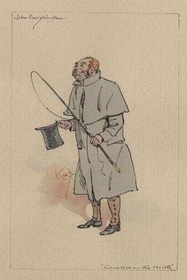 John Peerybingle - the Cricket on the Hearth, C.1920s-Joseph Clayton Clarke-Giclee Print