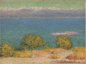 The Bay of Nice, 1891 by John Peter Russell