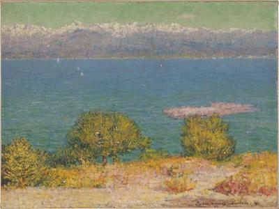 The Bay of Nice, 1891