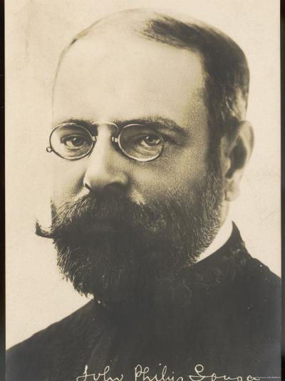 John Philip Sousa, Nicknamed the March King--Photographic Print