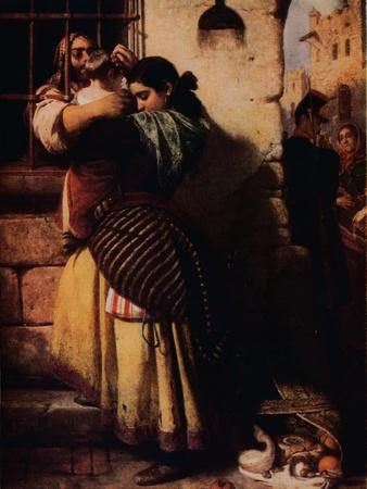 'The Prison Window', 1857, (1917)