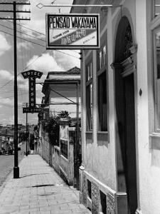 A View Showing a Typical Street in Sao Paulo by John Phillips