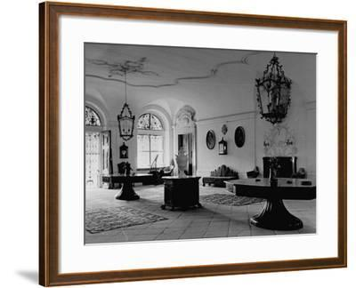 A View Showing the Entrance Hall at Leopoldskron, the Home of Max Reinhardt