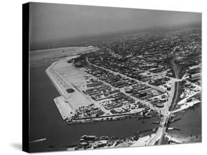 Aerial View of Corpus Christi by John Phillips