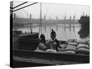 At the London Docks by John Phillips