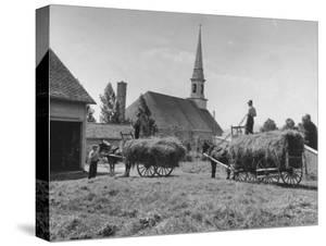 Farmers Paying Tithes with Hay by John Phillips