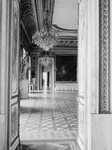 Interior of the Ballroom Inside the Presidential Palace, the Zamek by John Phillips