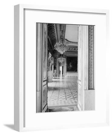 Interior of the Ballroom Inside the Presidential Palace, the Zamek