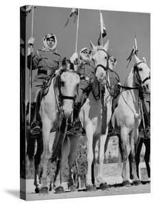 King Abdullah Ibn Hussein's Royal Household Guards by John Phillips
