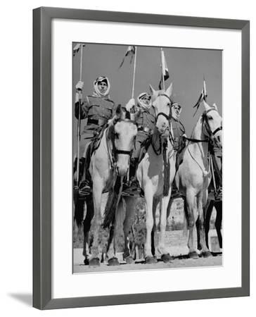 King Abdullah Ibn Hussein's Royal Household Guards