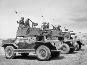 The Arab Legion Training in Gunnery on Tanks by John Phillips