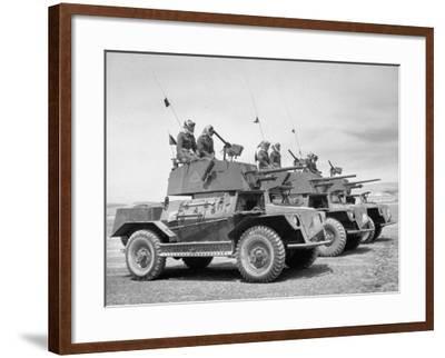 The Arab Legion Training in Gunnery on Tanks
