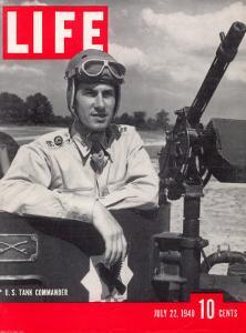 U.S. Tank Commander Captain Clayton Mansfield, July 22, 1940 by John Phillips