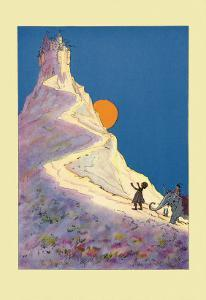 Castle on a Mountain by John R^ Neill