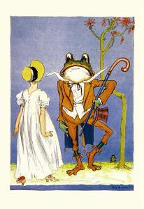 Dorothy and Frogman by John R^ Neill