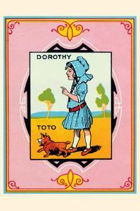 Dorothy and Toto by John R^ Neill