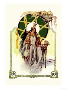 Glinda the Good Sorceress by John R^ Neill