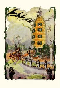 Jack Pumpkin's House of Corn by John R^ Neill