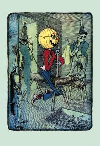 Jack Pumpkinhead's Ride by John R^ Neill