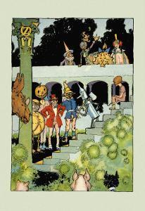 Princess Ozma's Court by John R. Neill