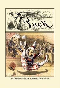 Puck Magazine: Jester by John R^ Neill