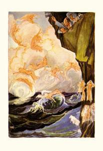 The Cloud Fairies by John R^ Neill