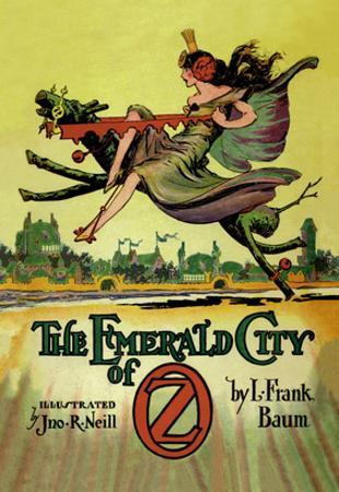 The Emerald City of Oz by John R^ Neill