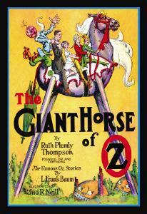 The Giant Horse of Oz by John R. Neill