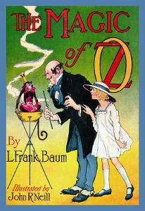 The Magic of Oz by John R. Neill