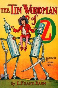 The Tin Woodsman of Oz by John R^ Neill
